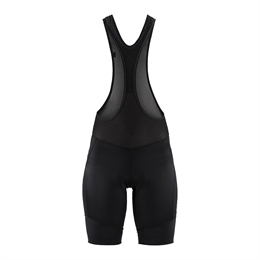 Craft, Essence Bib Shorts, Sort, Dame