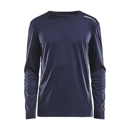 Craft, Rush LS Tee, Herre, Navy
