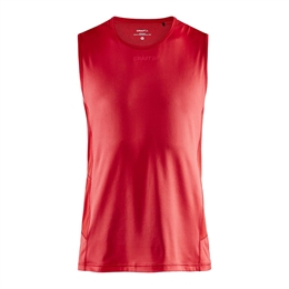 Craft, Adv Essence Sl Tee, Bright Red, Herre