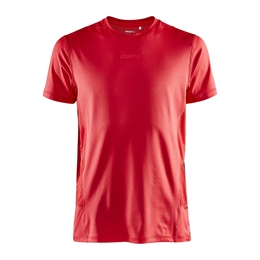 Craft, Adv Essence SS Tee, Bright Red, Herre