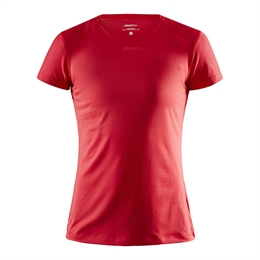 Craft, Adv Essence SS Slim Tee, Bright , Dame