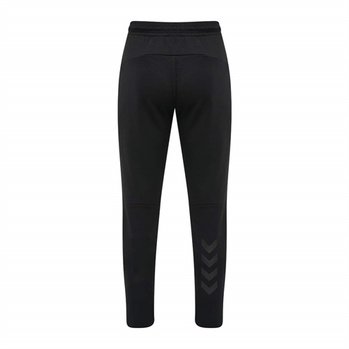 hummel, Tropper tapered pants, black, herre