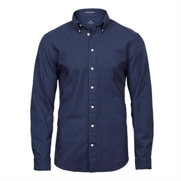 Tee Jays, Perfect Oxford Shirt, Navy, Herre