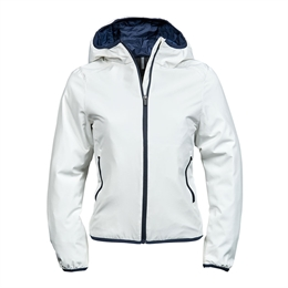Tee Jays, Womens Competition Jacket, Snow / Navy