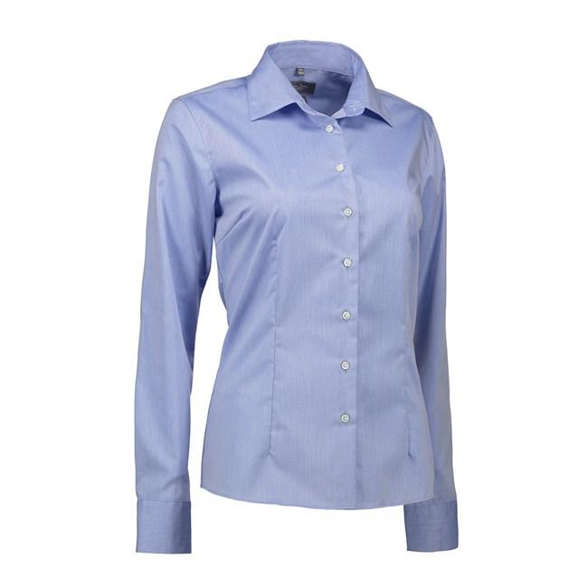 f980aa9a Seven Seas, Fine Twill, Skjorte, Modern Fit, Dame, Light Blue - b ...