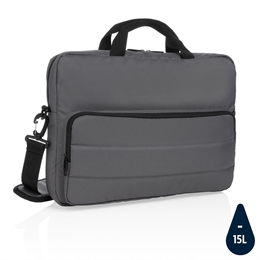 "Impact AWARE™ RPET 15.6"" laptop taske, stenkul"